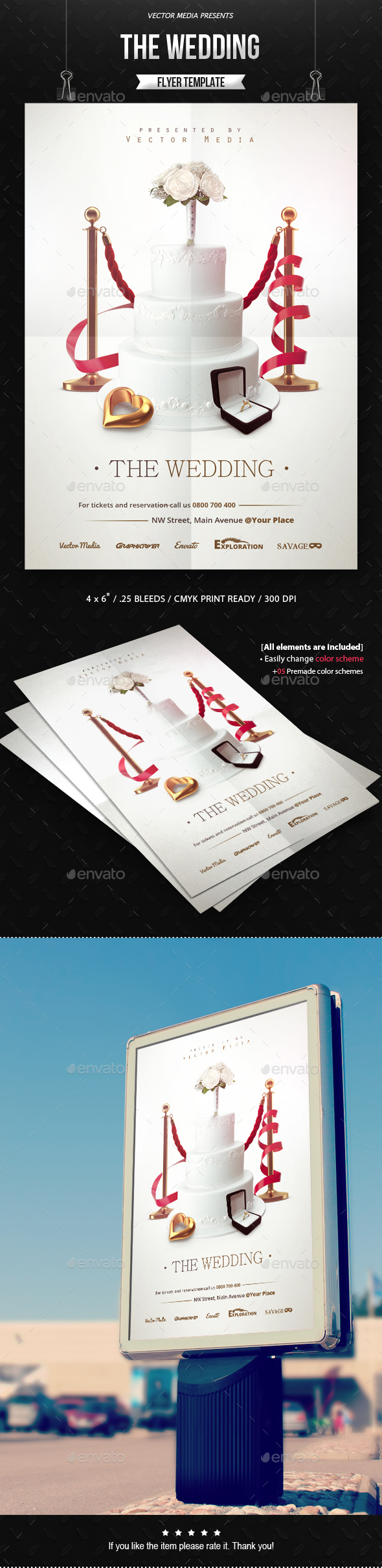 The Wedding - Flyer - Miscellaneous Events