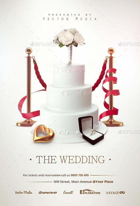 The Wedding - Flyer