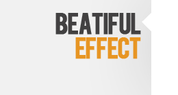 Beautiful effect