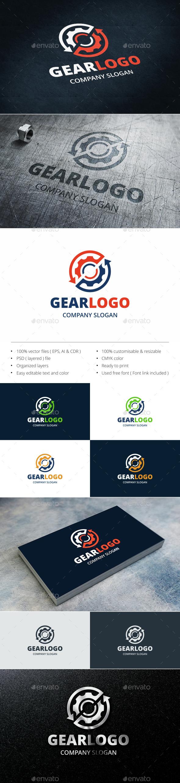 Gear - Symbols Logo Templates
