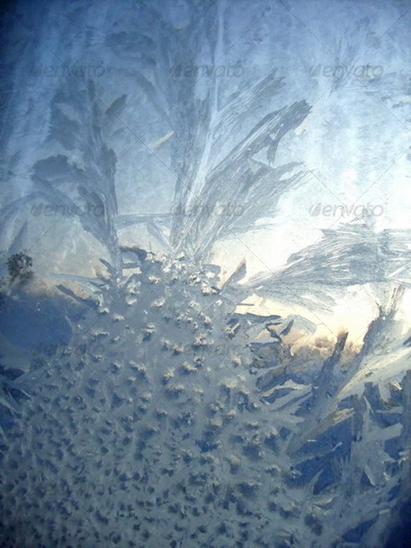 frosty winter pattern  - Nature Textures