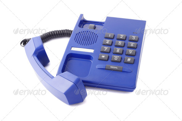 Call on hold - Stock Photo - Images