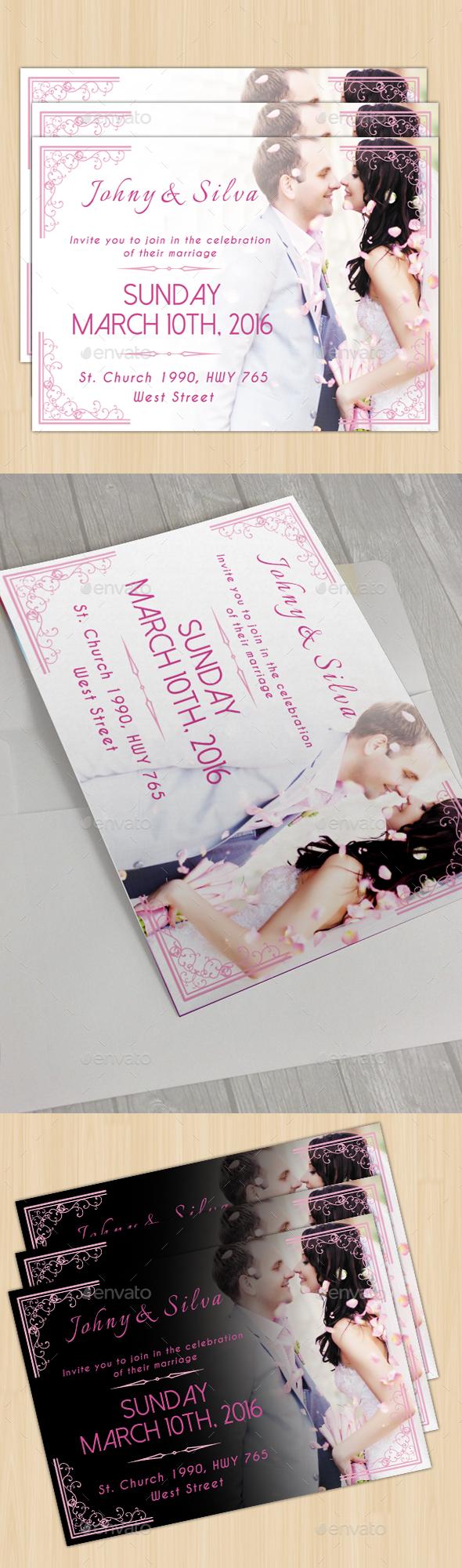 Modern Wedding Card II - Weddings Cards & Invites