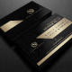 Gold And Black Business Card 2 - GraphicRiver Item for Sale