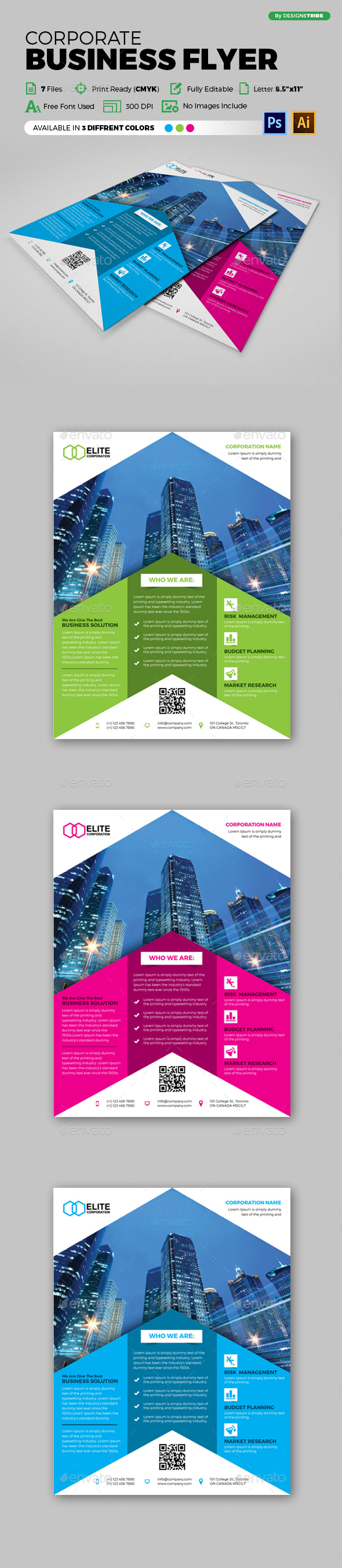 Flyer – Multipurpose 135 - Corporate Flyers
