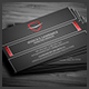 Dark Corporate Business Card - GraphicRiver Item for Sale