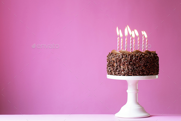 Birthday cake - Stock Photo - Images
