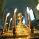 Burning Candles Inside a Church - VideoHive Item for Sale