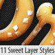 Delicious Sweet Cake Layer Styles - GraphicRiver Item for Sale