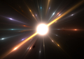 Star explosion with particles - PhotoDune Item for Sale