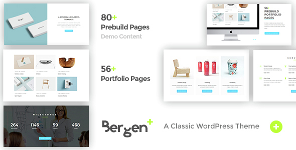 Bergen – Classic Business WordPress Theme