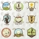 Golf Labels, Badges And Emblems - GraphicRiver Item for Sale