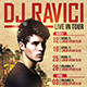 Dj & Artist Tour - Flyer Template - GraphicRiver Item for Sale