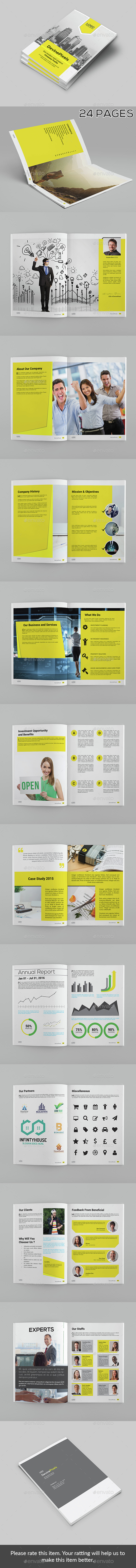 Modern Company Profile Brochure - Corporate Brochures