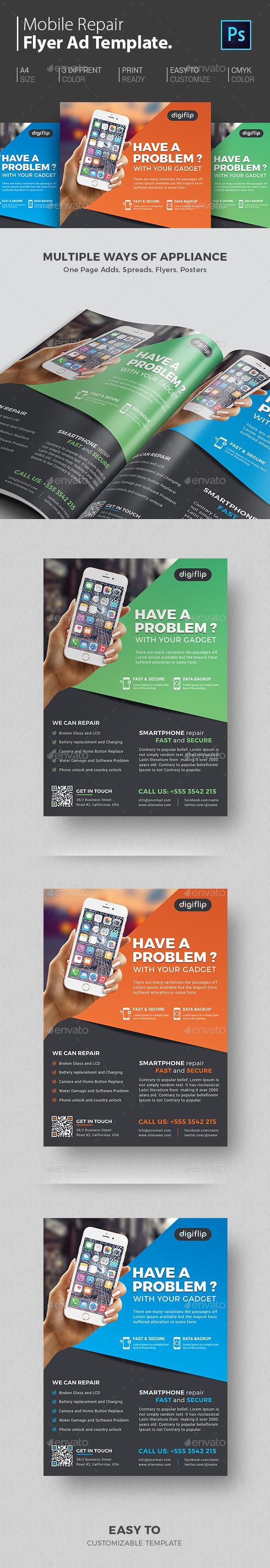 Smartphone Repair - Commerce Flyers