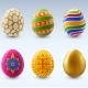 Easter Eggs Set - GraphicRiver Item for Sale