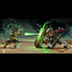 Fighting Scene Between Elf and Beast - GraphicRiver Item for Sale