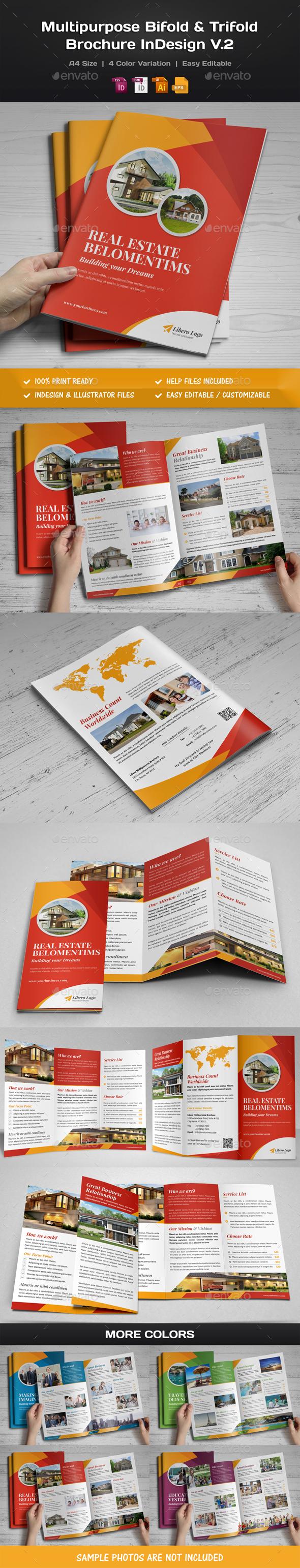 Multipurpose Bifold-Trifold Brochure v2 - Corporate Brochures