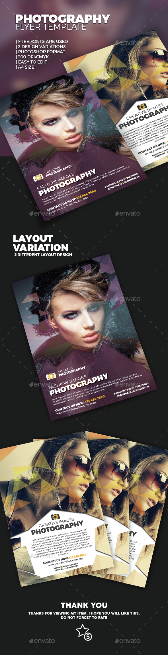 Photography Flyer - Commerce Flyers
