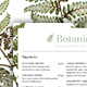 Botanical Restaurant Menu - GraphicRiver Item for Sale