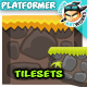 2D Game Platformer Tilesets 24 - GraphicRiver Item for Sale
