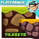 2D Game Platformer Tilesets 23 - GraphicRiver Item for Sale
