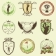 Golf Labels, Badges and Emblems - GraphicRiver Item for Sale