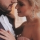 The Charming Bride And Groom Look At Each Other's Eyes, Hugging Each Other,  Face. - VideoHive Item for Sale
