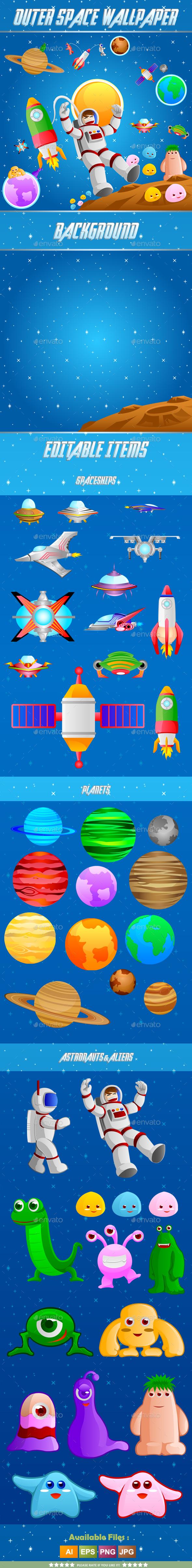 Outer Space Wallpaper - Miscellaneous Conceptual