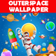 Outer Space Wallpaper - GraphicRiver Item for Sale