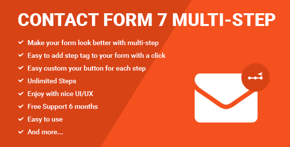 Contact Form Seven CF7 Multi-Step - CodeCanyon Item for Sale