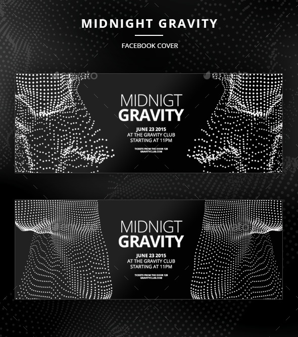 Midnight Gravity Facebook Cover - Facebook Timeline Covers Social Media
