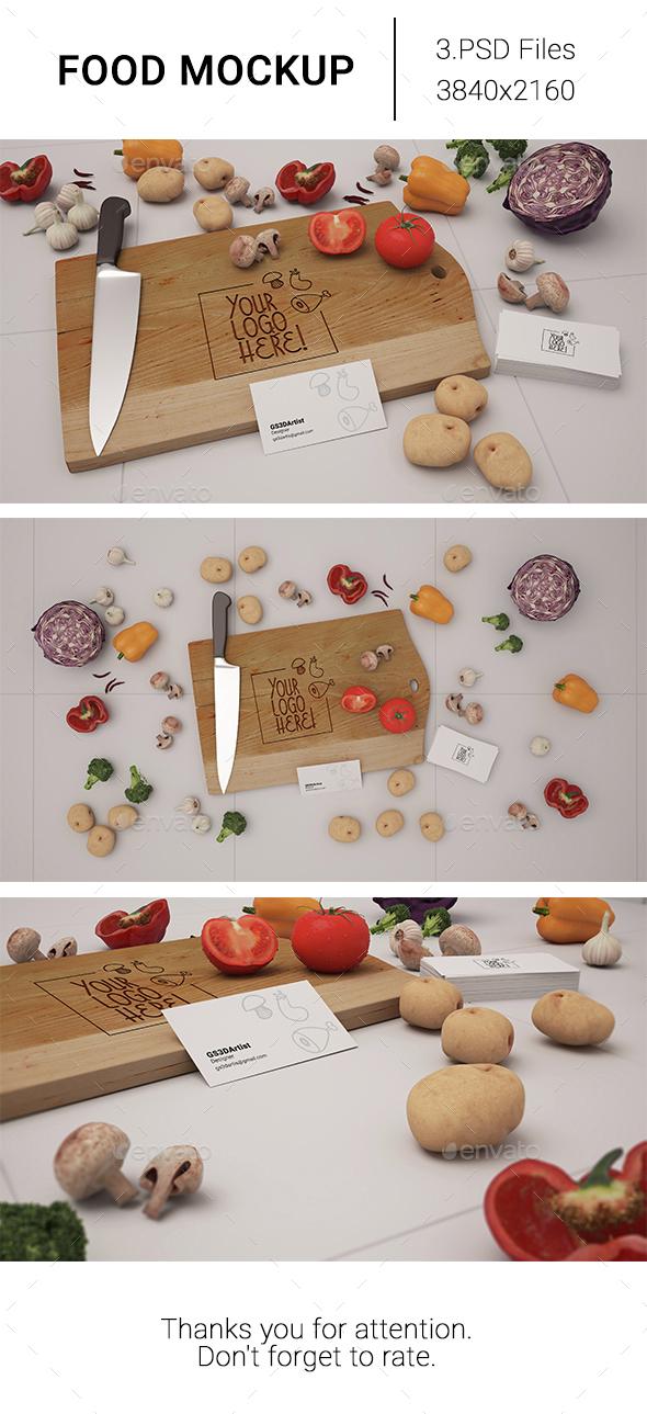 Food Mockup - Food and Drink Packaging