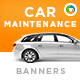Car Maintenance Banners - GraphicRiver Item for Sale