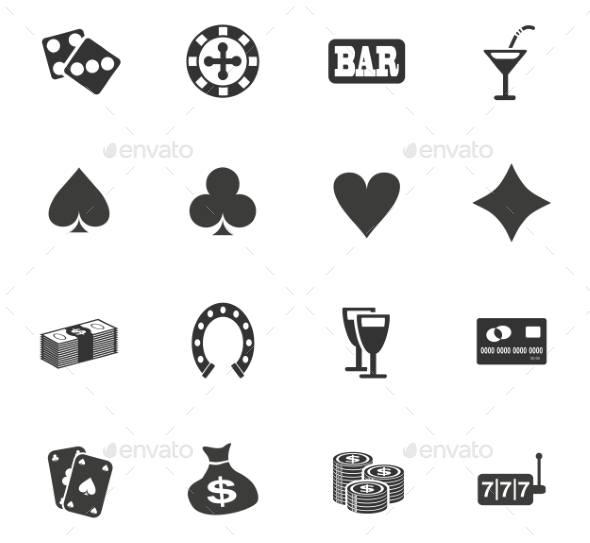 Casino Icon Set - Miscellaneous Icons