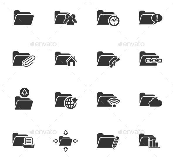 Folder Icon Set - Miscellaneous Icons