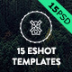 15 Eshot Templates - GraphicRiver Item for Sale