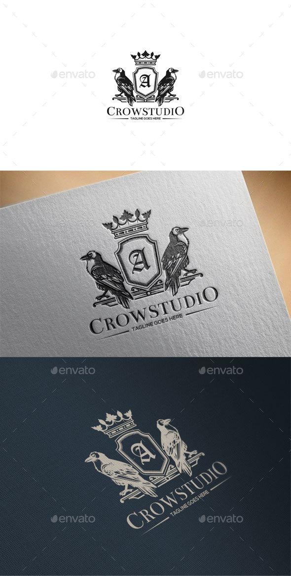 Crow Crest Logo - Crests Logo Templates