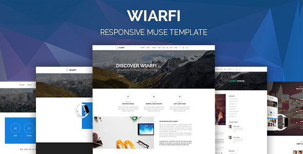 Wiarfi Muse Template