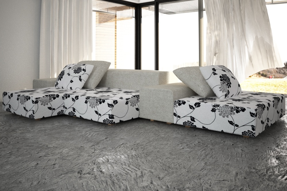 Living Divani Extra Wall.Extra Wall Sofa By Living Divani By Ratulo 3docean