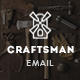 Craftsman - Multipurpose E-newsletter PSD Template - GraphicRiver Item for Sale
