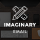 Imaginary - Creative E-newsletter PSD Template - GraphicRiver Item for Sale