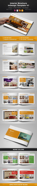 Interior Brochure InDesign v.1 - Corporate Brochures