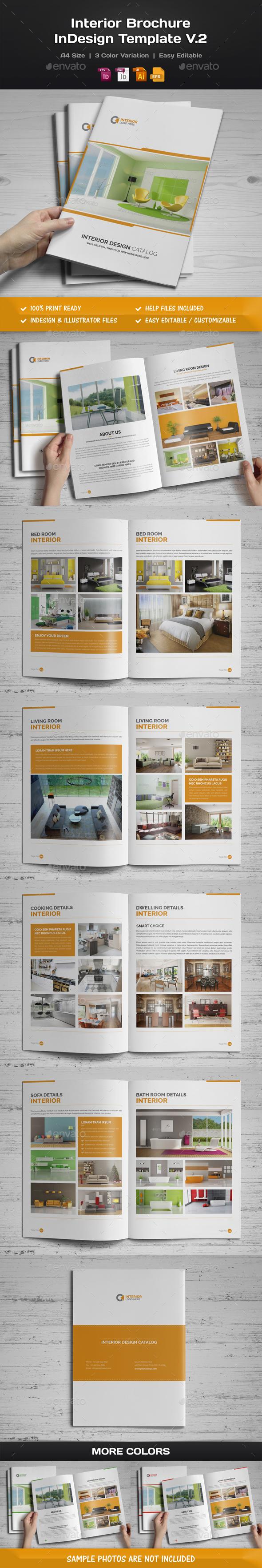 Interior Brochure InDesign v.2 - Corporate Brochures