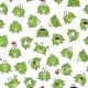 Seamless Pattern with Frogs - GraphicRiver Item for Sale