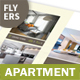 Apartment For Rent Flyers – 4 Options - GraphicRiver Item for Sale