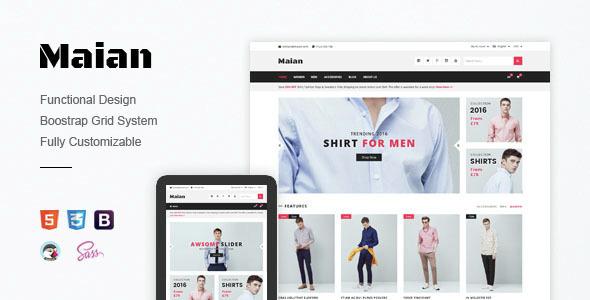 Maian – Premium Responsive Prestashop Theme