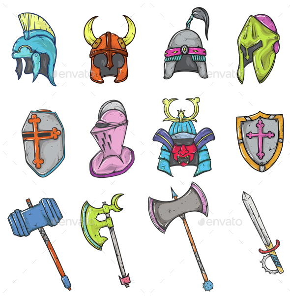 Warrior Weapon and Equipment - Miscellaneous Characters