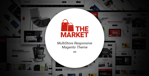 The Market – Multipurpose Responsive Magento Theme