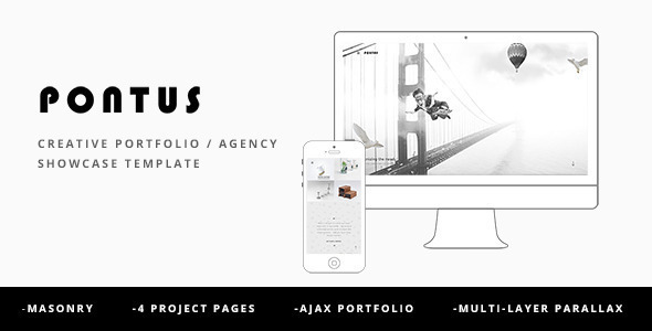Pontus – Creative Portfolio / Agency WordPress Theme